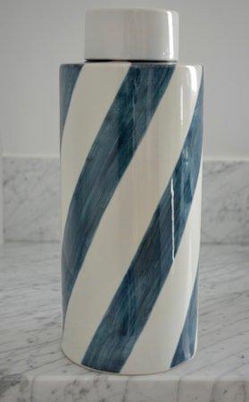 Flow keramikkboks – Indigo, large