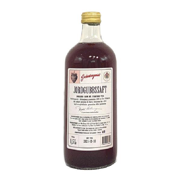 Sockerbageriets Jordgubbssaft - 500 ml