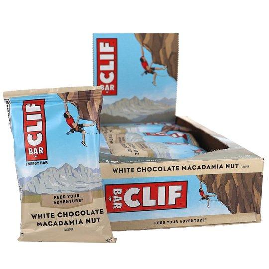 Energibar Macadamianöt & Vit Choklad 12-pack - 53% rabatt