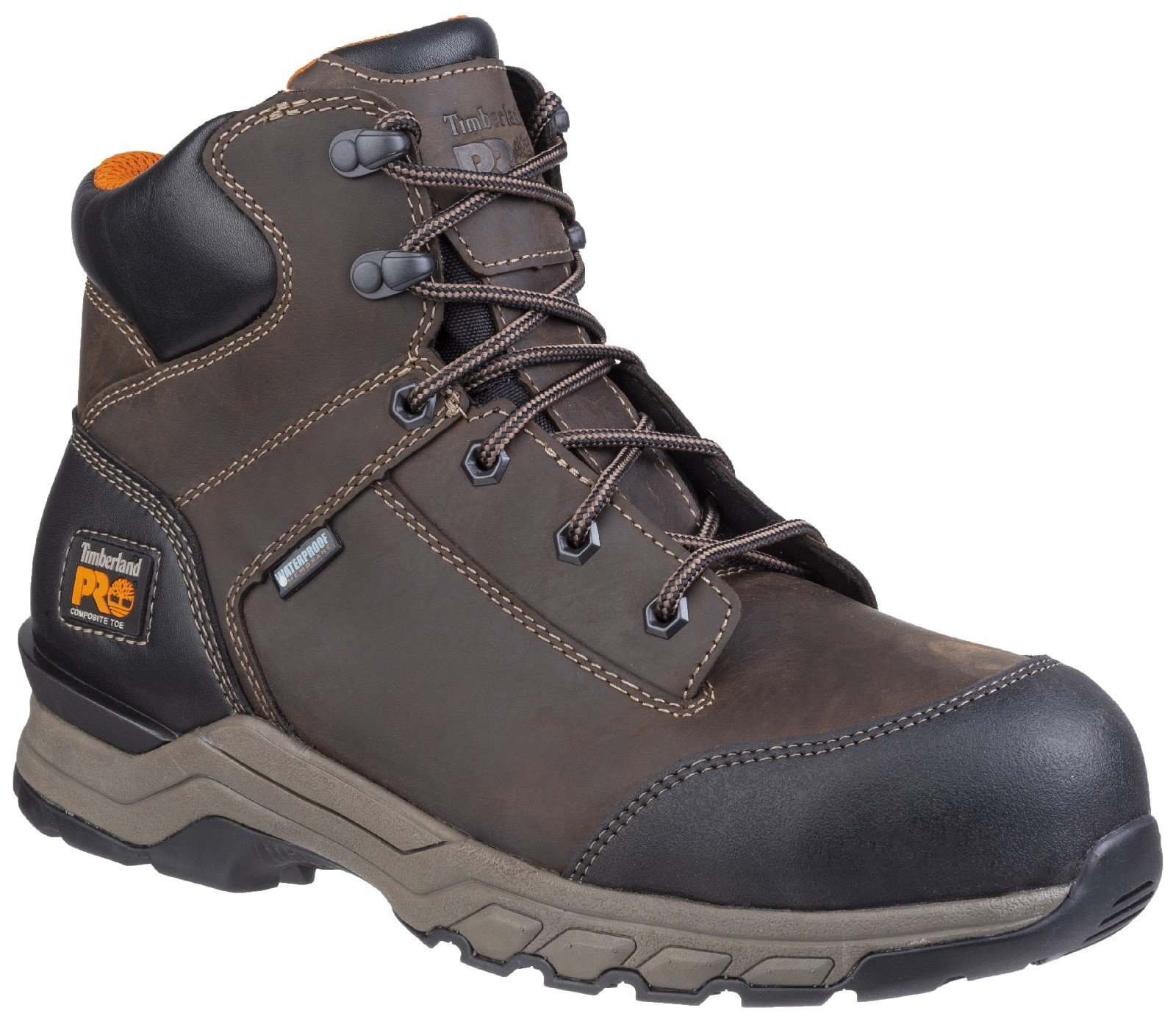 Timberland Pro Men's Hypercharge Lace Up Safety Boot Various Colours 28168 - Brown 6