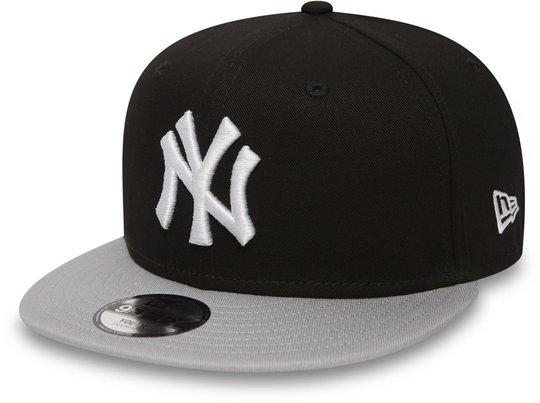 New Era MLB Kids Cotton Block Kaps, Black 6-12 år