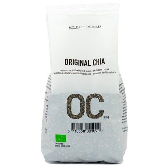 House of Originals Ekologiska Chiafrön, 300 g