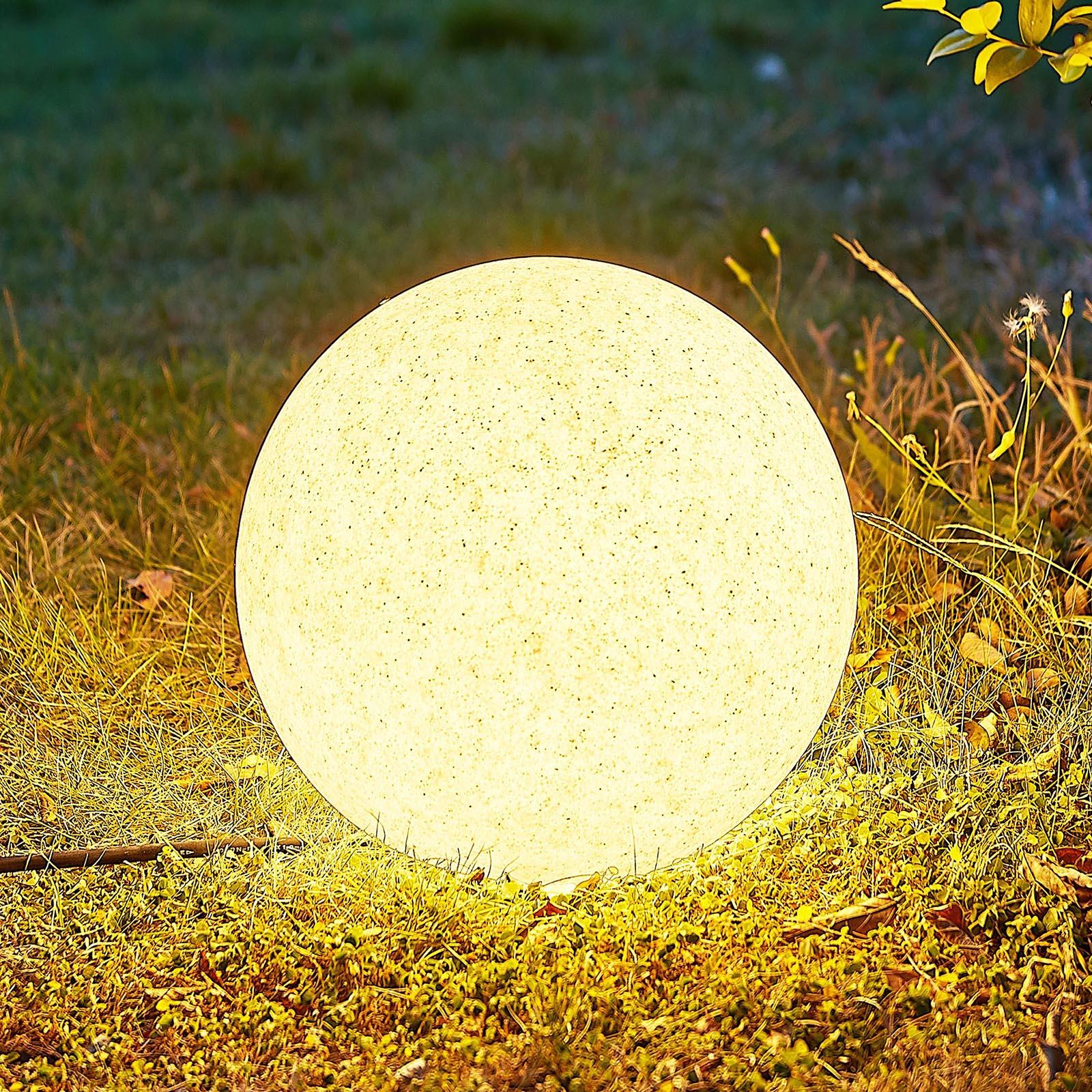 Arcchio Orlana -valaisinpallo, struktuuri, 25 cm