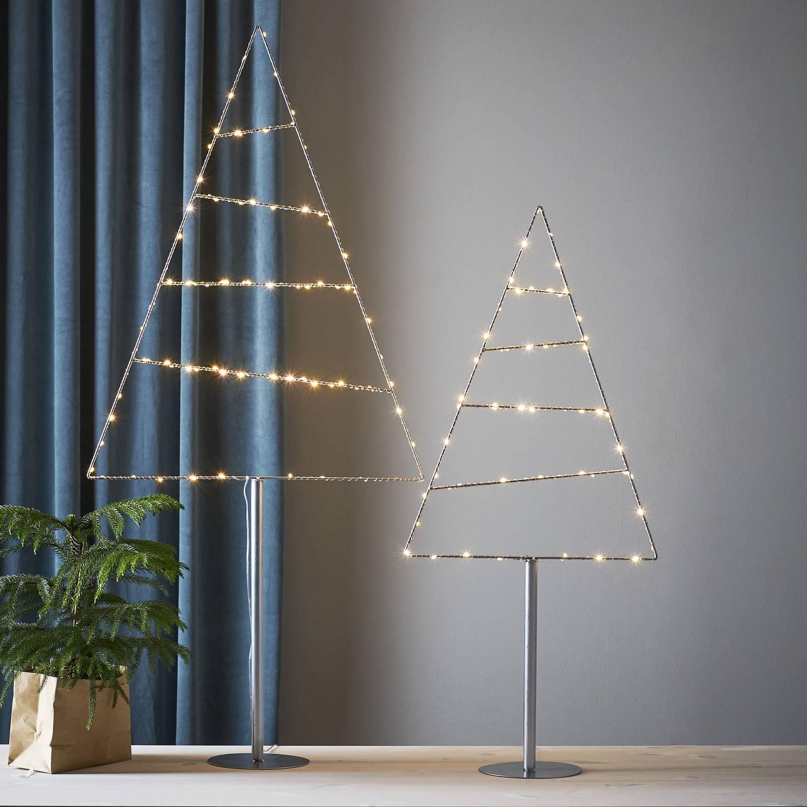 Triangle-LED-koristevalaisin, puu