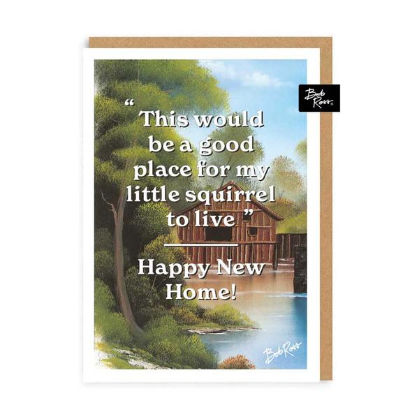 House River Happy New Home Greeting Card