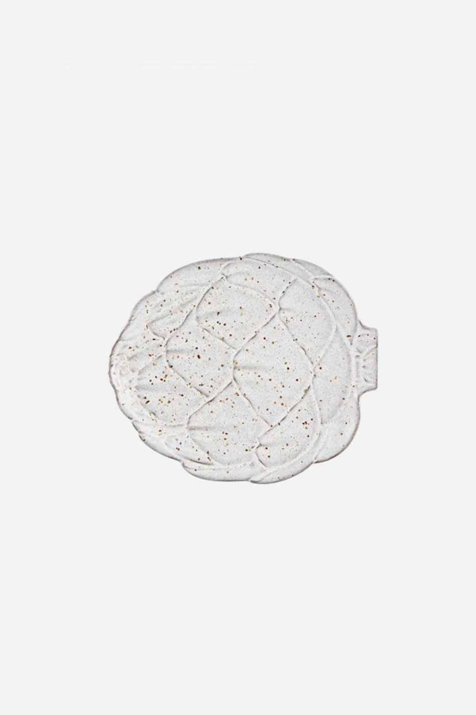 Fat Kronärtskocka 17,5 cm Vit