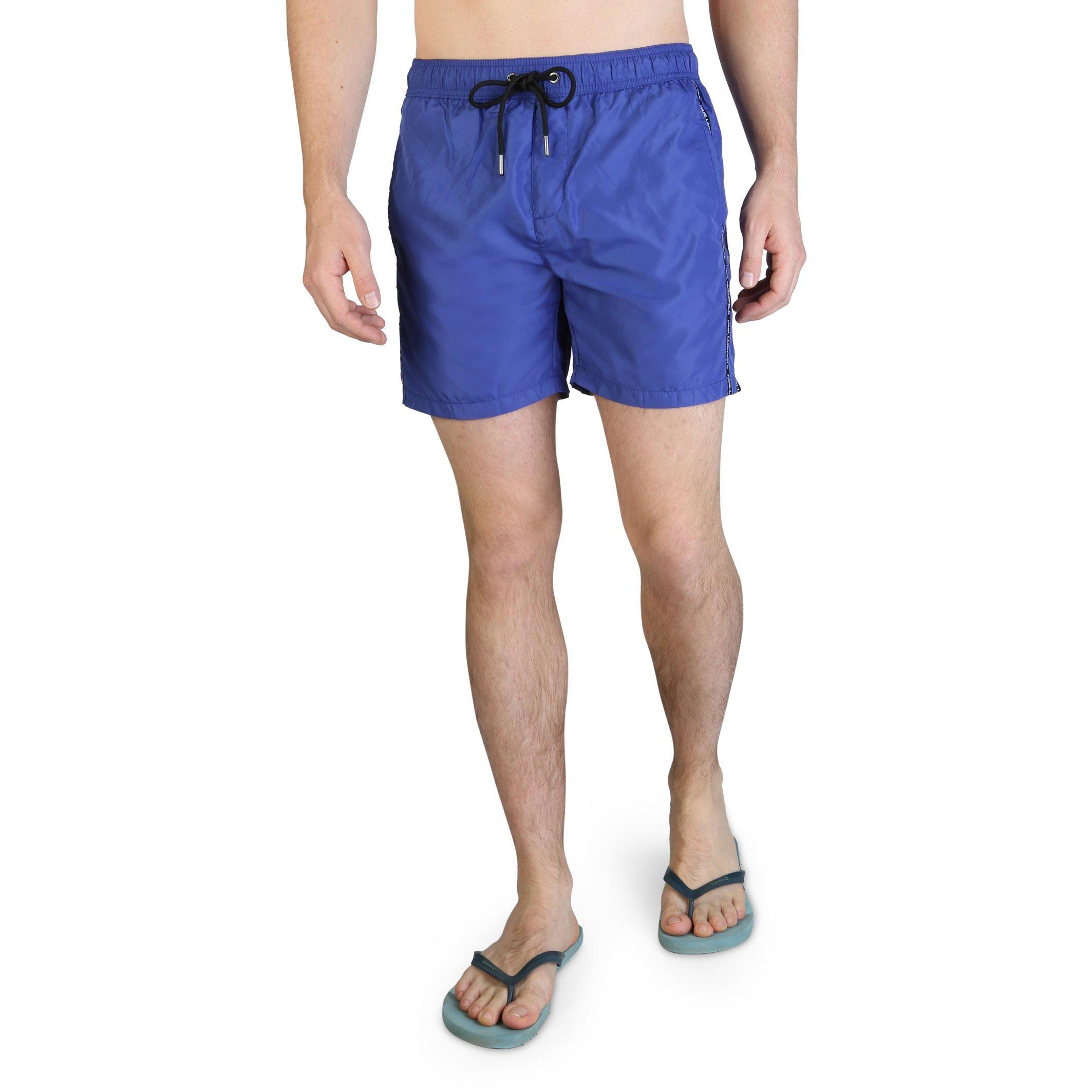 Karl Lagerfeld Men's Swimwear Various Colours KL21MBM03 - blue S