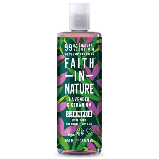 Faith in Nature Lavender Shampoo, 400 ml