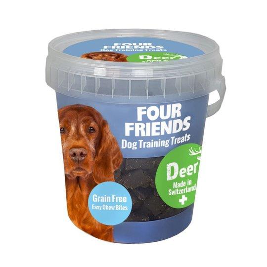 FourFriends Dog Training Treats Grain Free Deer 400 g
