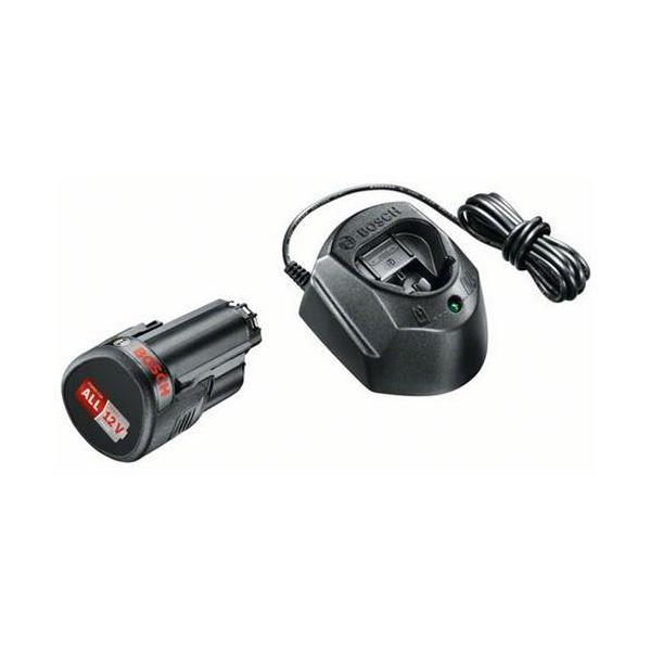 Bosch DIY GAL 1210 CV + 1,5Ah Ladepakke 1,5 A h-batteri og lader