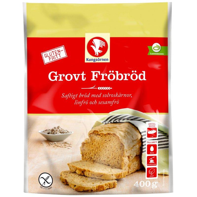 Brödmix Grovt Fröbröd Glutenfritt 400g - 40% rabatt