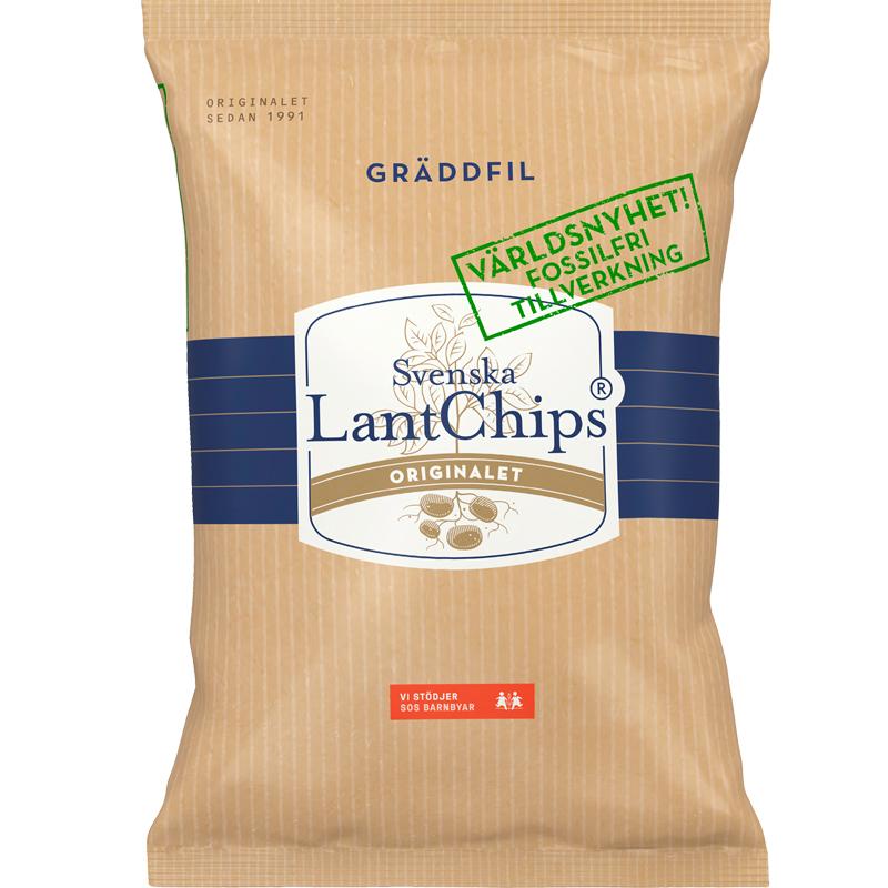 Chips Gräddfil - 25% rabatt