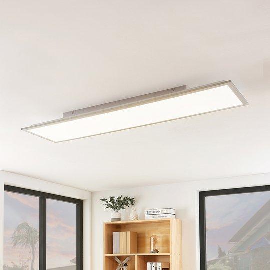 Lindby Stenley -LED-paneeli, CCT, 119 cmx29 cm