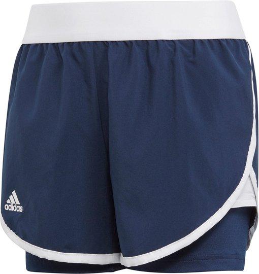 Adidas Girls Club Shorts, Navy 116