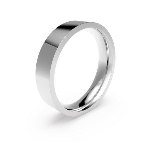 Förlovningsring i platina 5mm, 68
