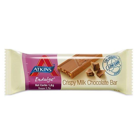 """Energiapatukka """"Crispy Milk Chocolate"""" 30g - 34% alennus"""