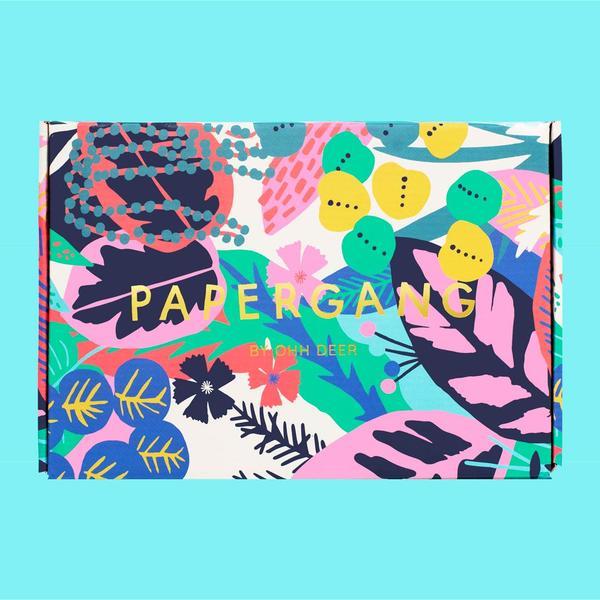 Colourful Tropics Papergang Box