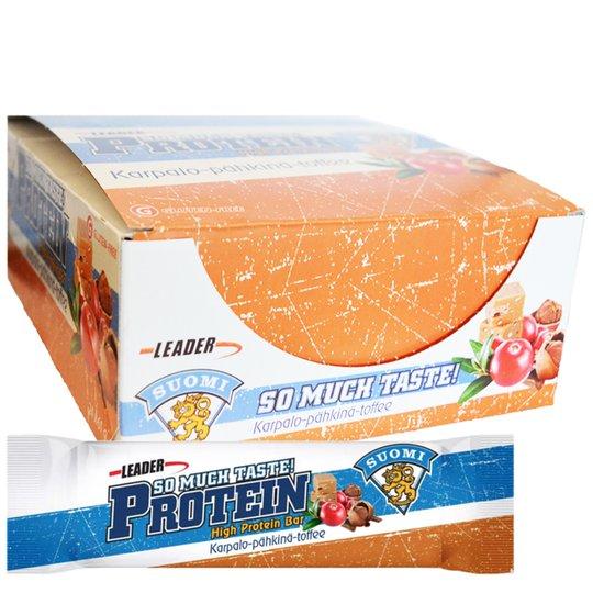 """Laatikollinen proteiinipatukoita """"Cranberry & Nuts"""" 24 x 61 g - 67% alennus"""