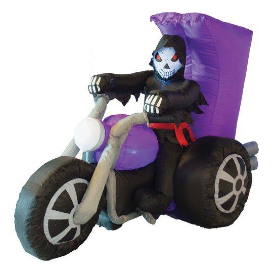 Döden på Motorcykel Uppblåsbar - 220 cm