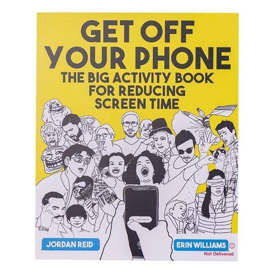 Get Off Your Phone Activity Bok