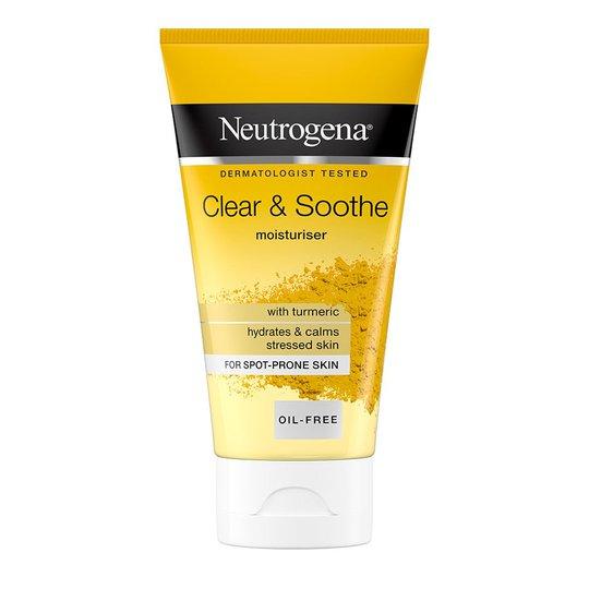 Clear & Soothe Moisturiser, 75 ml Neutrogena Päivävoiteet