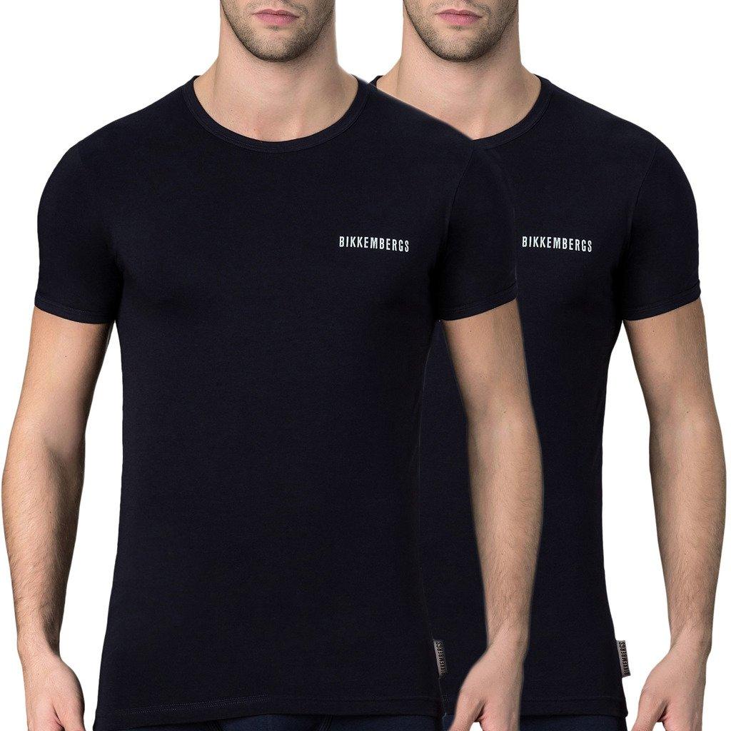 Bikkembergs Men's T-Shirt Various Colours VBKT04086 - blue S