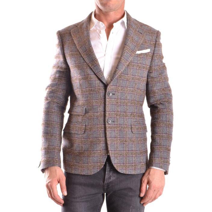 Daniele Alessandrini Men's Blazer Multicolor 186655 - multicolor 48