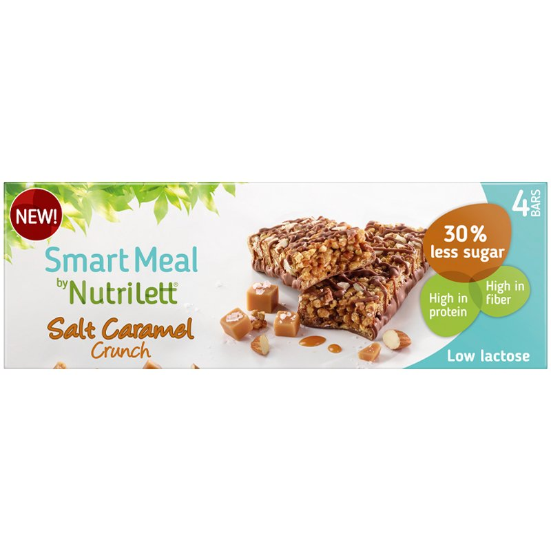 Ateriankorvikepatukat Salt Caramel Crunch 4kpl - 39% alennus