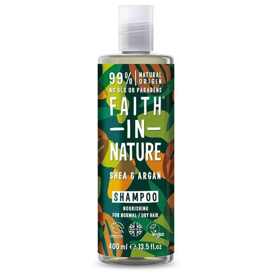 Faith in Nature Shea & Argan Shampoo, 400 ml
