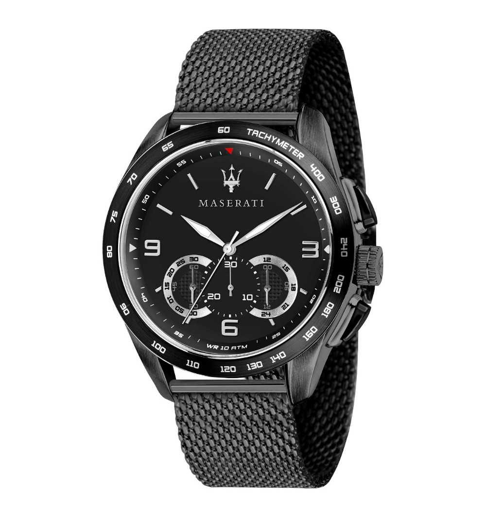 Maserati Men's Traguardo Watch Black R8873612031