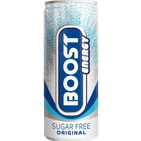 Boost Energy Sugar Free 25cl