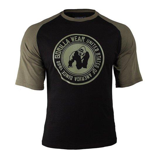 Texas T-shirt, Black/Army Green