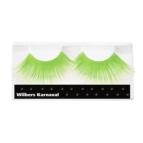 Jättelösögonfransar Neongröna