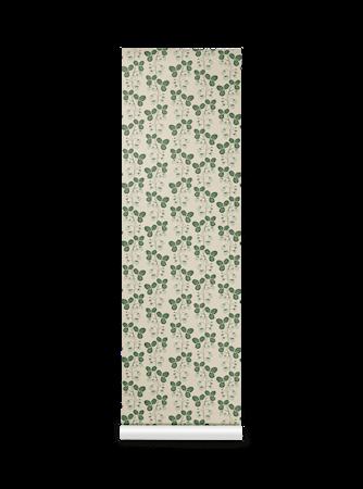 Strawberry Field Tapet Green