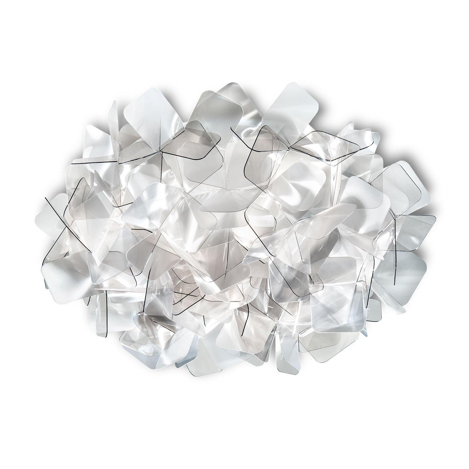 Slamp Clizia taklampe, Ø 32 cm, fumé