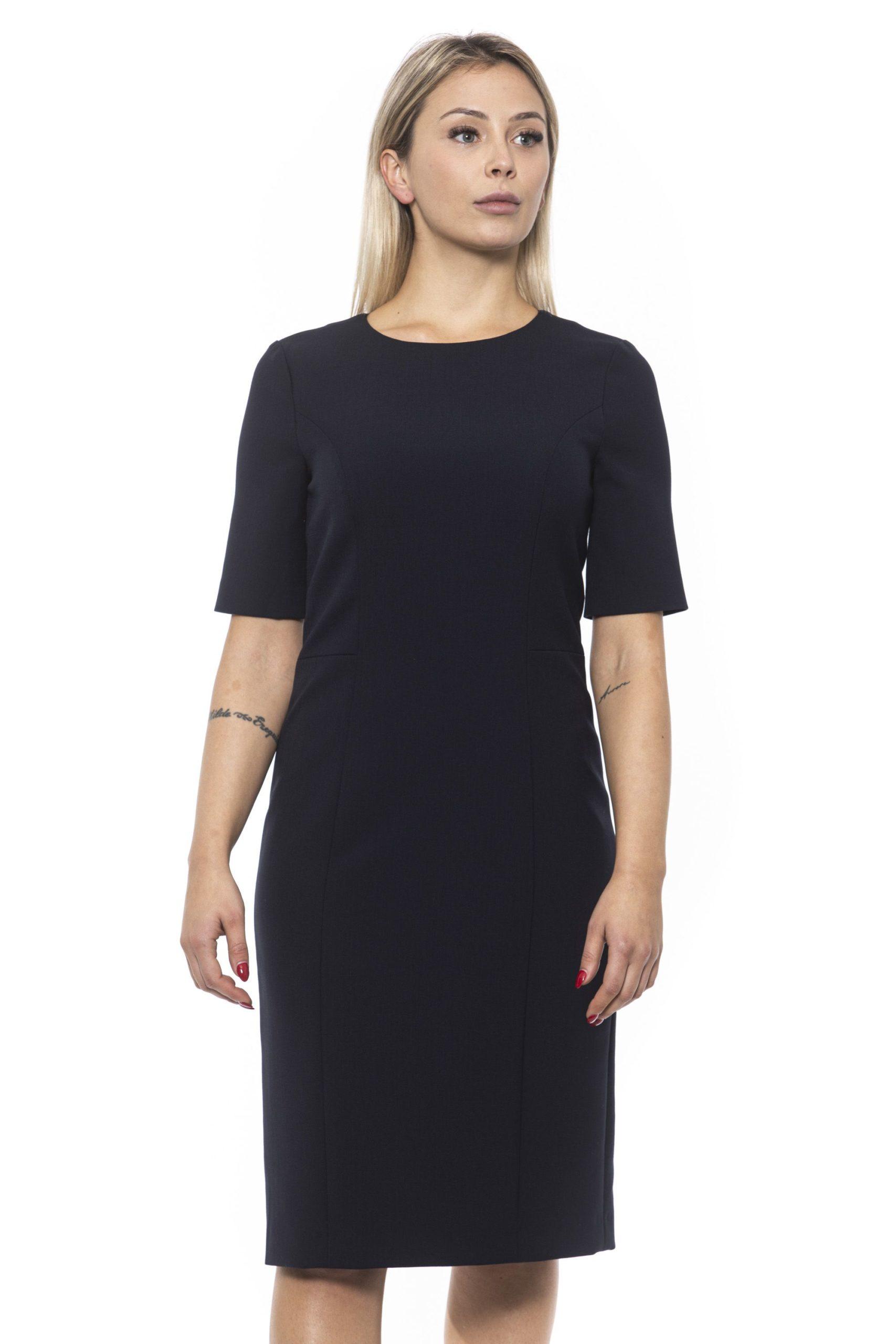 Peserico Women's Dress Blue PE1383144 - IT42 | S