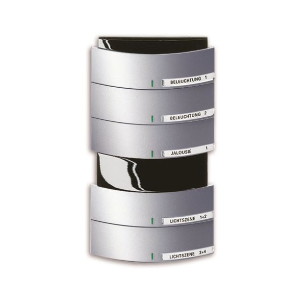 ABB Busch-triton 6320-0-0038 Painike Infrapuna, 5-napainen KNX Alumiini
