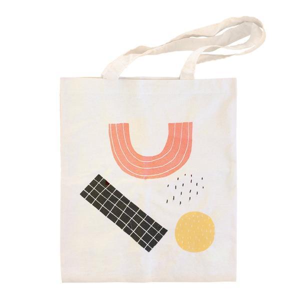 Abstract Shapes Tote Bag
