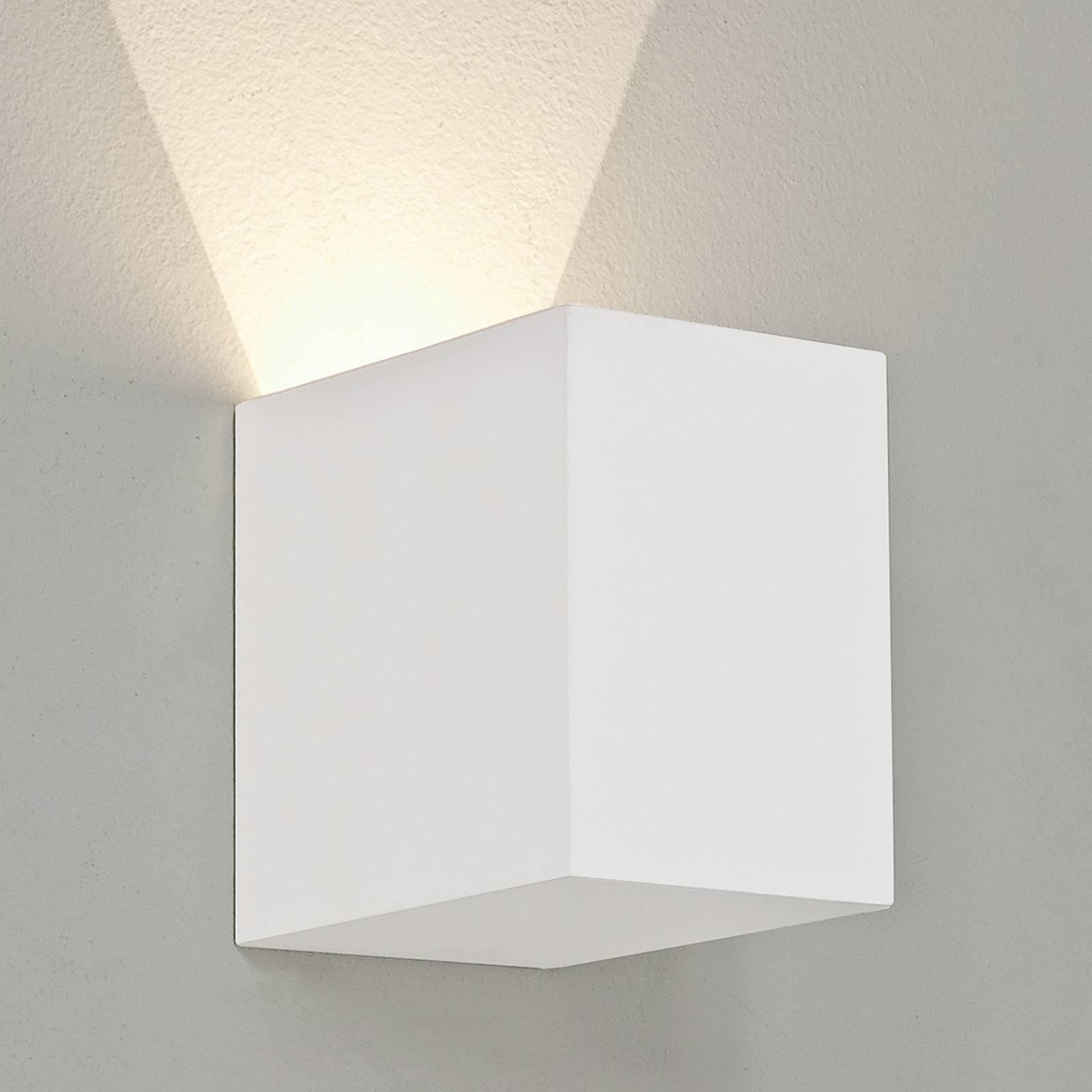 Astro Parma 100 -LED-seinävalaisin kipsiä, 2 700 K