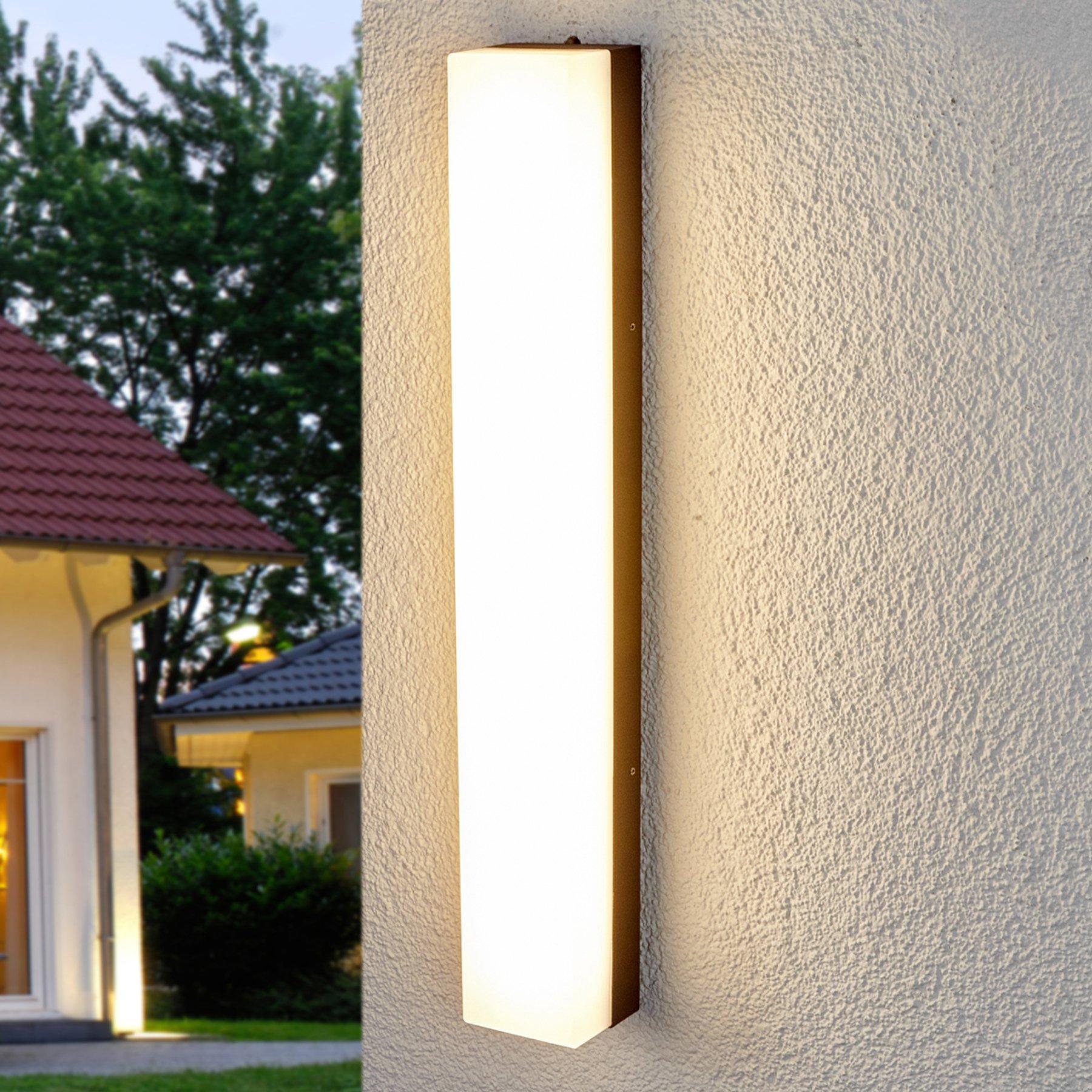 Lyssterk vegghent LED-utelampe Cahita