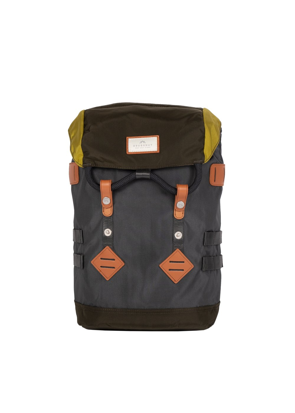 Colorado Small Glossy Charcoal x Olive