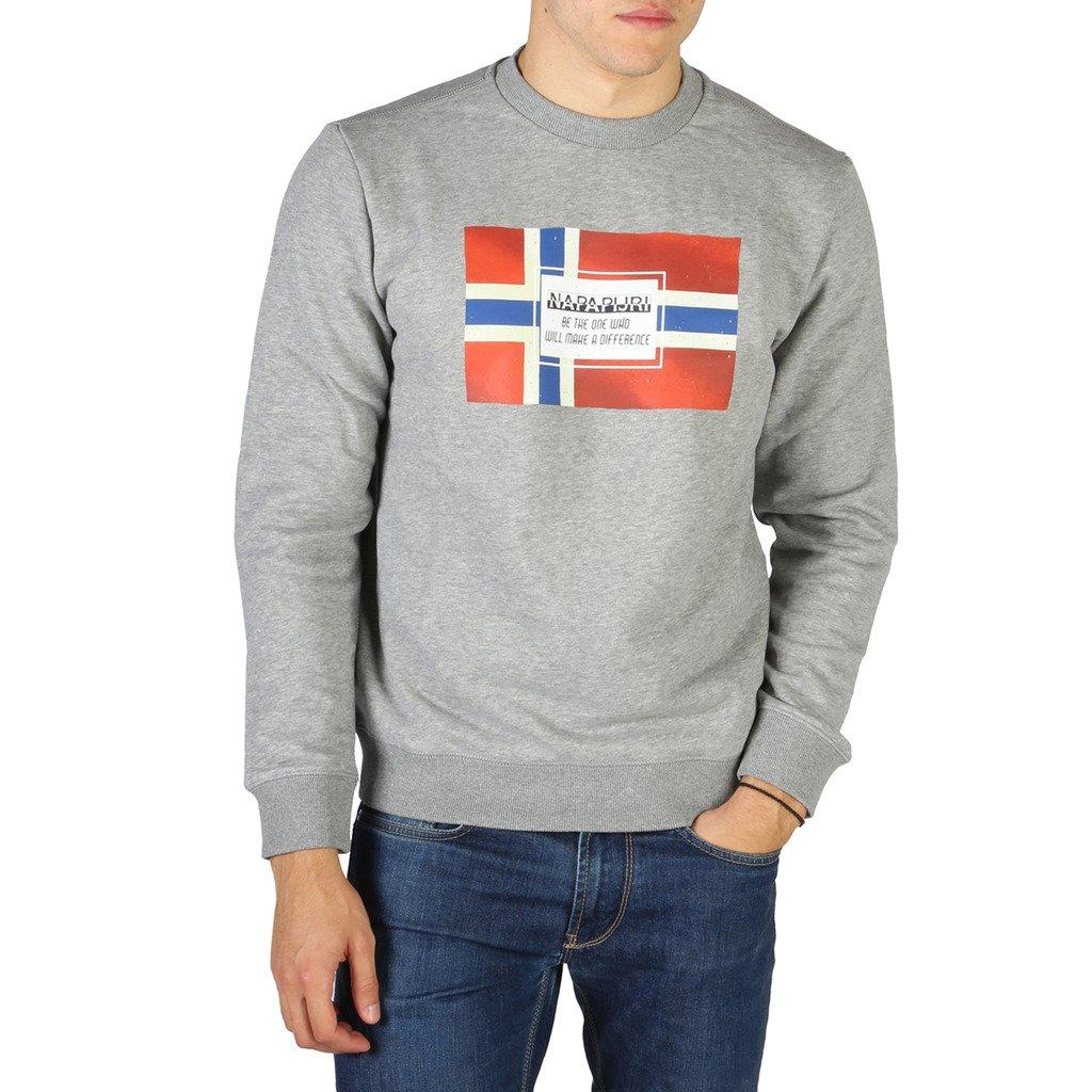 Napapijri Men's Sweatshirt Various Colours NP0A4ENG1601 - grey S
