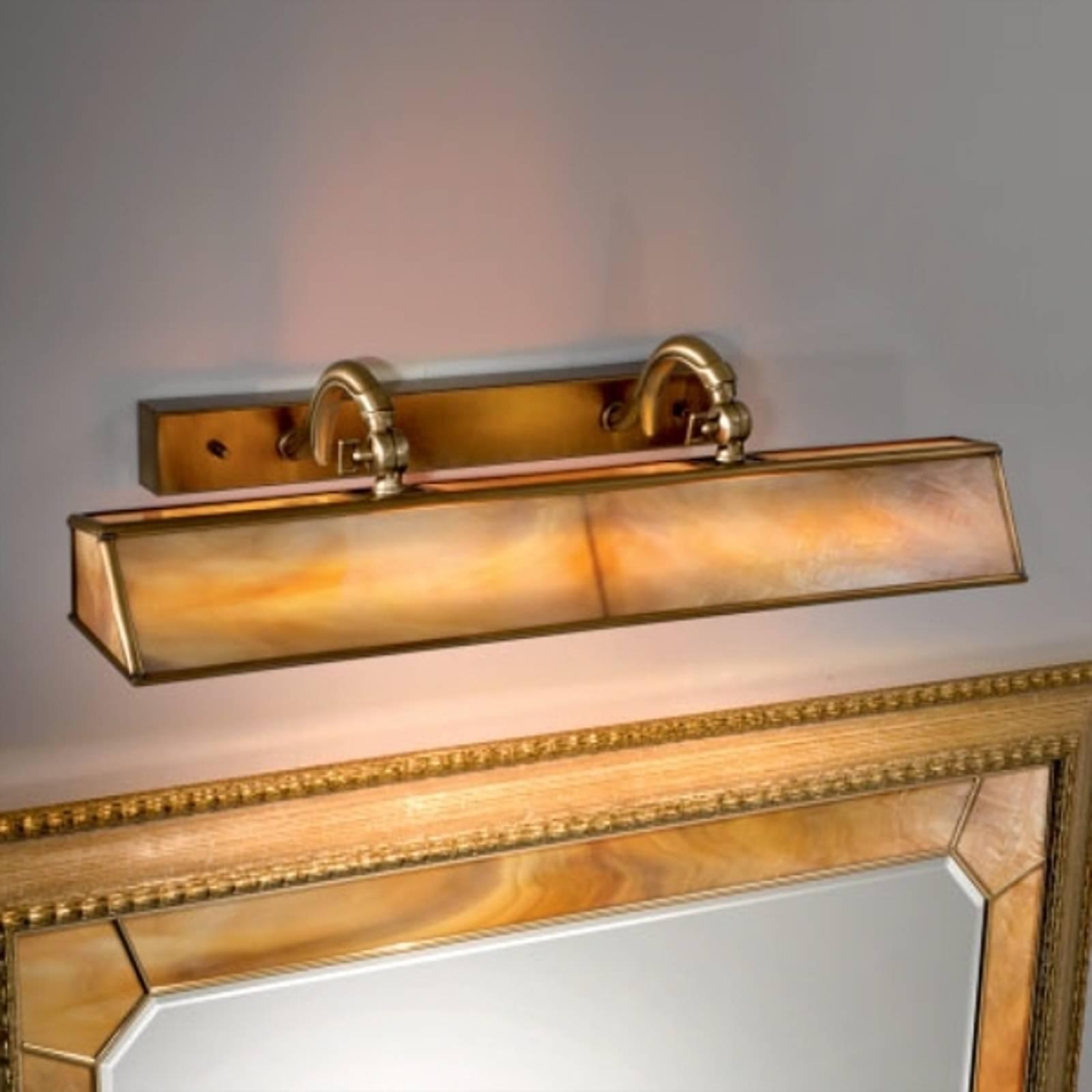 Klassinen tauluvalaisin Galleria ambra/messinki