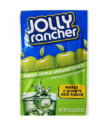Jolly Rancher Instant Drink Mix Green Apple