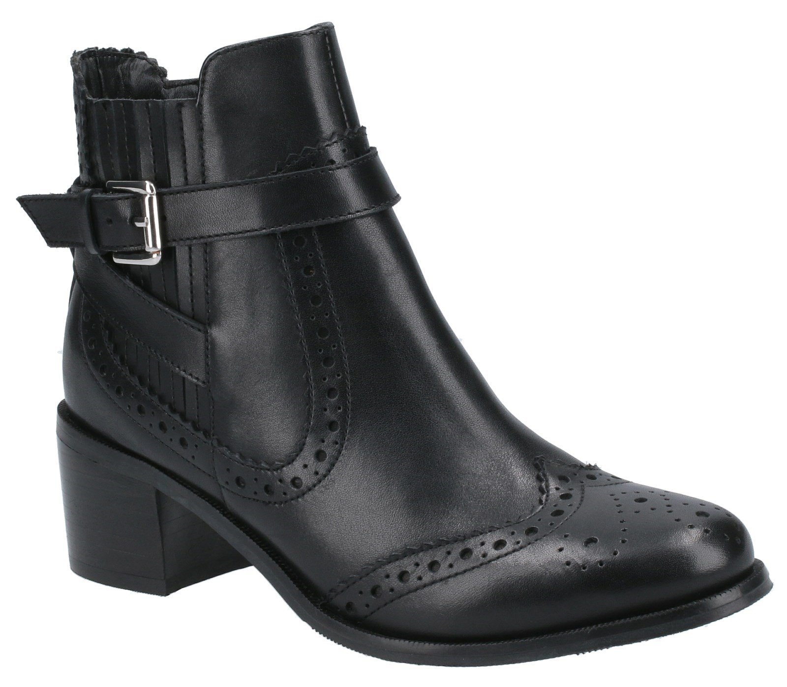 Hush Puppies Women's Rayleigh Ankle Boots Various Colours 31224 - Black 3