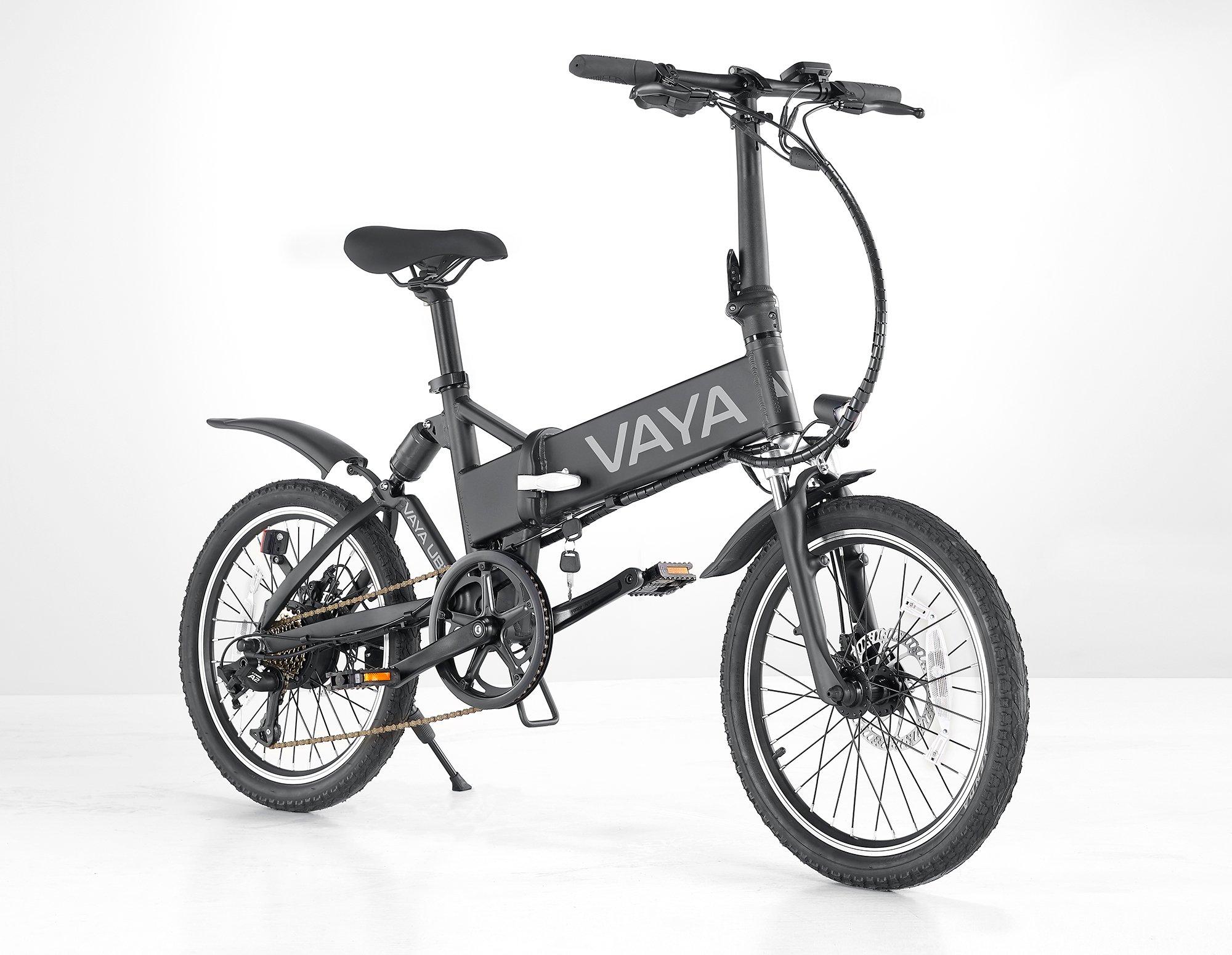 Vaya - Urban E-Bike UB-1 - Electric Bike - Black (1643BL)