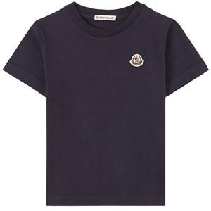Moncler Logo T-shirt Marinblå 4 år