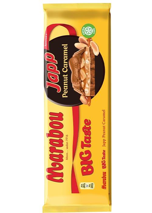 Big Taste Japp Peanut Caramel 276g