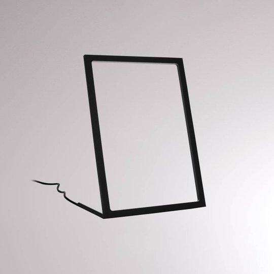 LOUM Gone LED-bordlampe svart høyde 29,5 cm