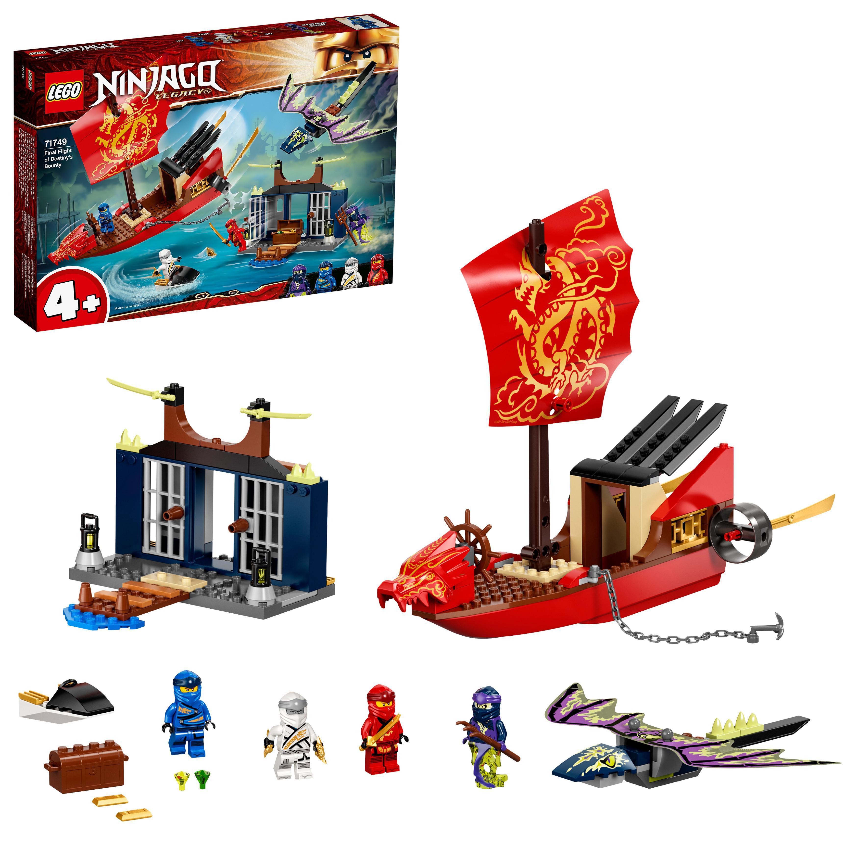 LEGO NINJAGO - Final Flight of Destiny's Bounty (71749)